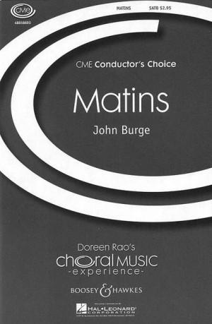 Burge, J: Matins