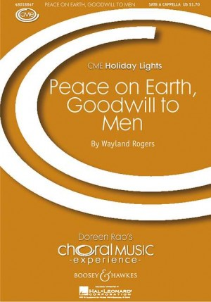 Rogers, W: Peace on earth, goodwill to men