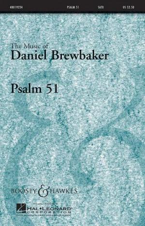 Brewbaker, D: Psalm 51