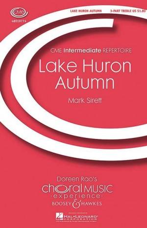 Sirett, M: Lake Huron Autumn