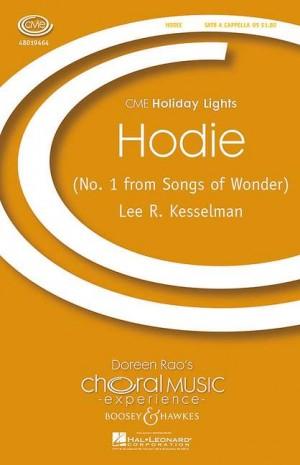 Kesselman, L R: Hodie
