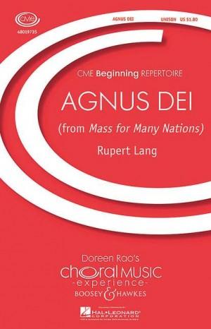 Lang, R: Agnus Dei