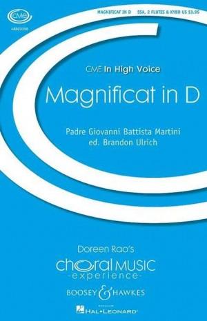 Martini, G B: Magnificat in D