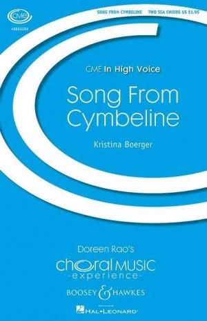 Boerger, K: Song From Cymbeline