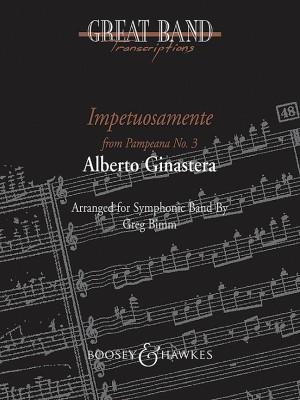 Ginastera, A: Impetuosamente