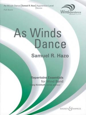 Hazo, S R: As Winds Dance