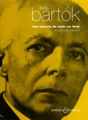 Bartok, B: Viola Concerto op. posth.