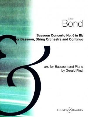 Bond, C: Bassoon Concerto No. 6