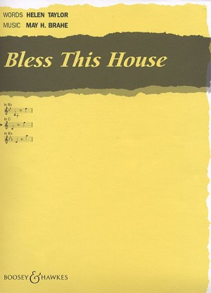 Brahe, M H: Bless this House in C