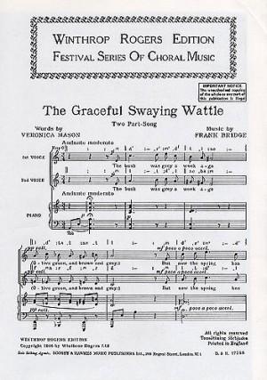 Bridge, F: Graceful Swaying Wattle