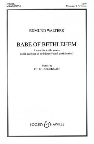 Walters, E: Babe of Bethlehem