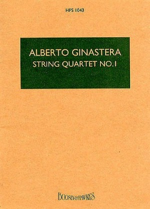 Ginastera, A: String Quartet No. 1 op. 20