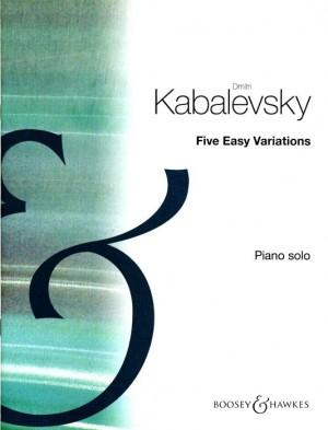 Kabalevsky, D: Five Easy Variations op. 51