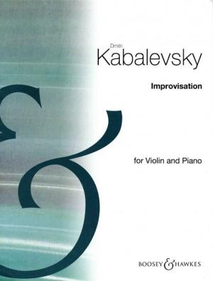 Kabalevsky, D: Improvisation op. 21