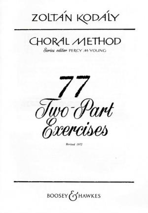 Kodaly, Z: Choral Method Vol. 5