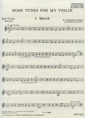 More Tunes For My Violin