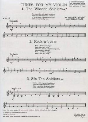 Tunes for my violin