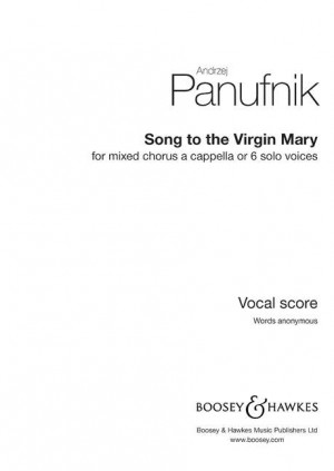 Panufnik, A: Song to the Virgin Mary