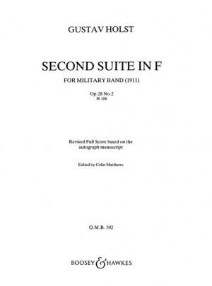 Holst, G: Suite 2 In F (revised) op. 28/2 H.106