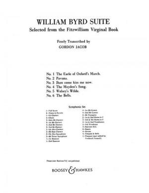 Byrd, W: William Byrd Suite