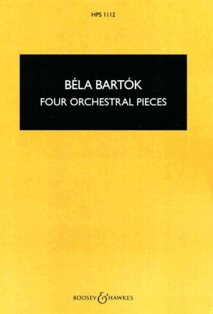 Bartok, B: Four Orchestral Pieces op. 12