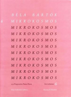 Bartok, B: Mikrokosmos Vol. 6