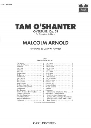 Malcolm Arnold: Tam O'Shanter Overture, Op. 51