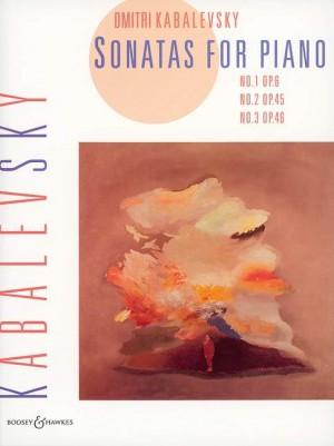 Kabalevsky, D: Sonatas op. 6, 45, 46