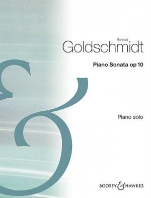 Goldschmidt, B: Piano Sonata op. 10