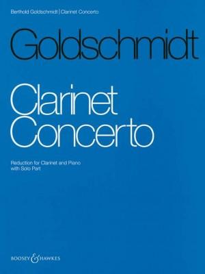 Goldschmidt, B: Clarinet Concerto