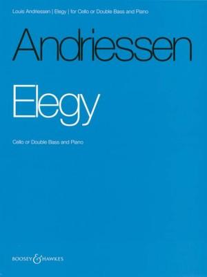 Andriessen, L: Elegy