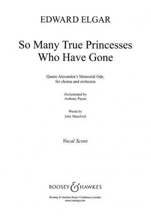 Elgar, E: So Many True Princesses Who Have Gone