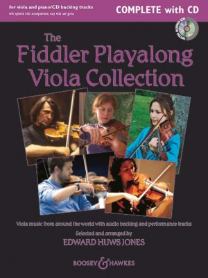 Huws Jones, E: The Fiddler Playalong Viola Collection