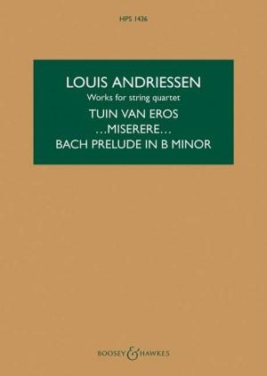 Andriessen, L: Works for String Quartet