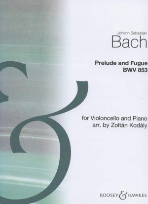 Bach, J S: Prelude  and Fugue BWV 853