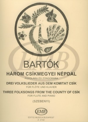 Three Folksongs from the County of Csik Product Image