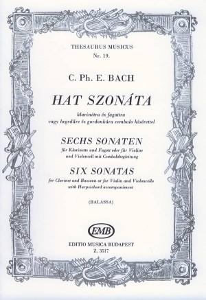 6 Sonatas (clarinet and bassoon)