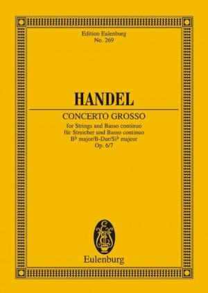 Handel, G F: Concerto grosso Bb major op. 6/7 HWV 325