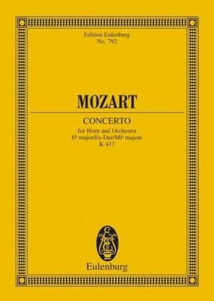 Mozart, W A: Horn Concerto No. 2 Eb major KV 417