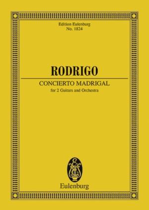 Rodrigo, J: Concierto Madrigal