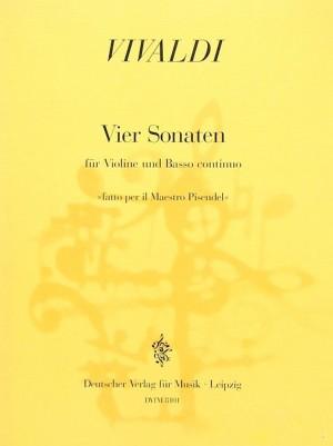 Vivaldi: Vier Sonaten