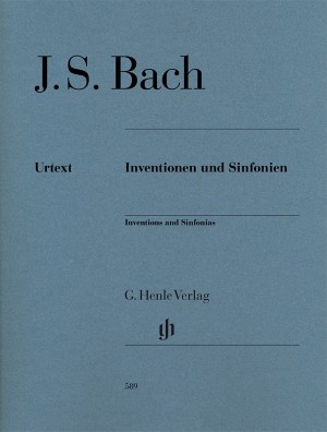 Bach, J S: Inventions and Sinfonias BWV 772-801
