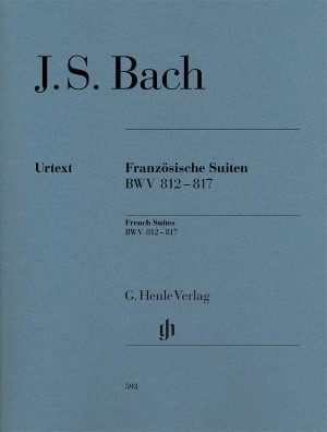 Bach, J S: French Suites BWV 812-817