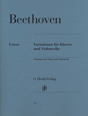 Beethoven, L v: Variations for Piano and Violoncello