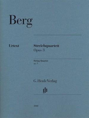 Berg, A: String Quartet op. 3