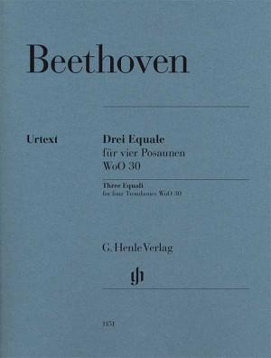 Beethoven, L v: Three Equali for four Trombones