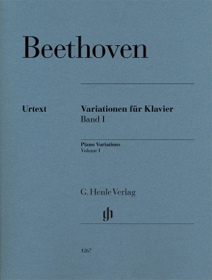 Beethoven, L v: Piano Variations Band 1