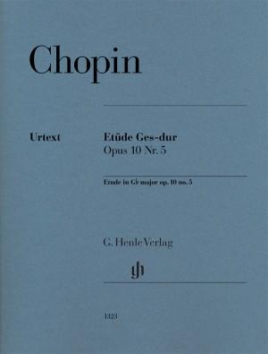 Chopin: Étude Op  10 No  5 in G flat major 'Black Key' (page