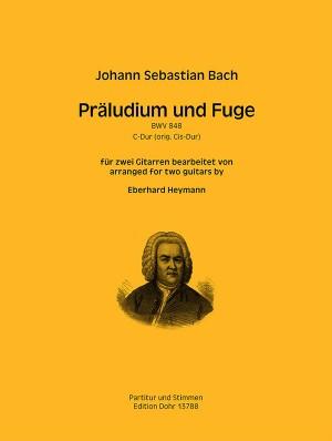 Bach, J S: Prelude and Fugue C major BWV848