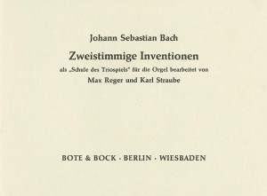Bach, J S: Two-Part Inventions